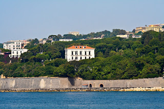 The Villa Rosebery overlooks the Bay of Naples