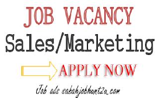 Salesman Immediate vacancy