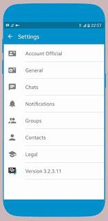 BBM MOD OFFICIAL V3.2.3.11 APK GRATIS TERBARU 2017