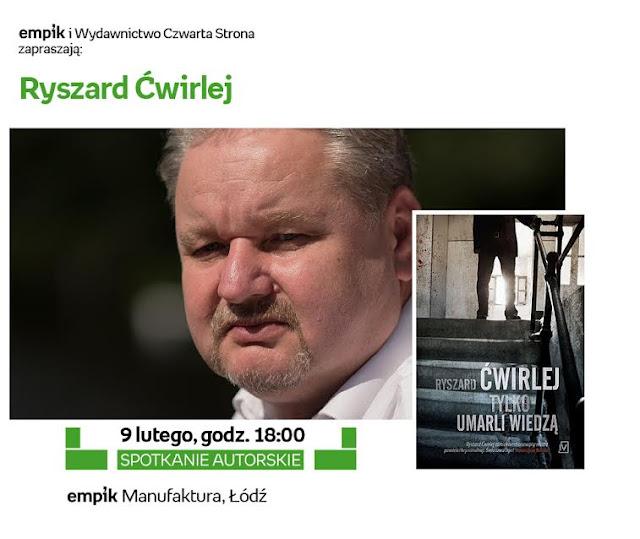 Ryszard Ćwirlej w łódzkim Empiku!