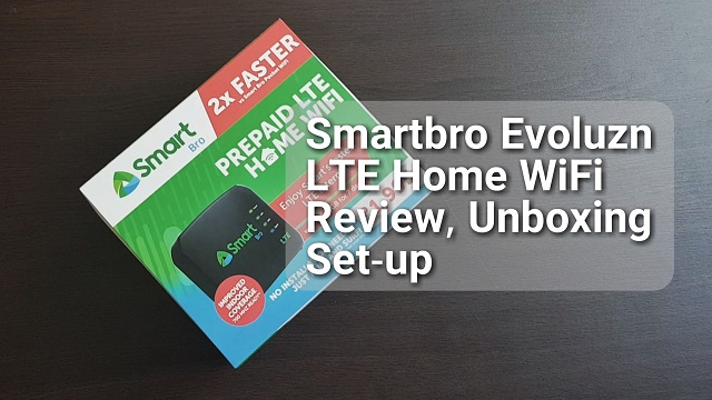 SmartBro Evoluzn LTE Home WiFi (FX ID3) Video Review,