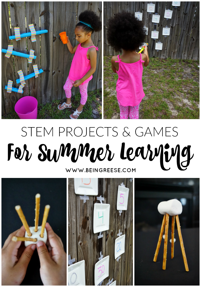 STEM projects and games for summer learning