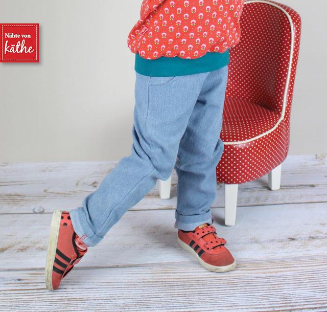 Schnittmuster/Ebook Herzblut von Rosarosa aus Jeans