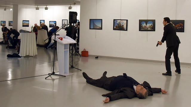 Russian ambassador shooting: Putin says attack meant to spoil Russia-Turkey ties