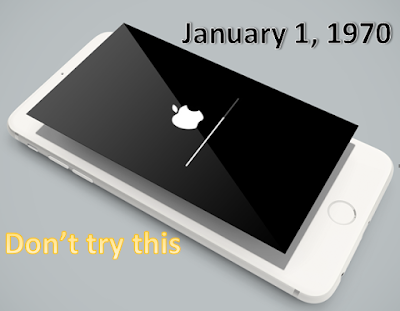 Changing the date of your iPhone to January 1st, 1970 will brick your device, according to the report on Reddit.