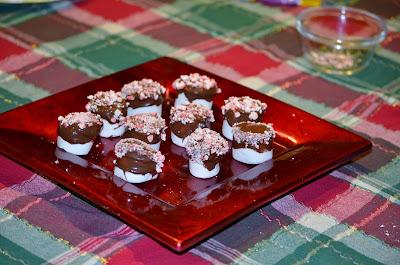 make chocolate peppermint marshmallows