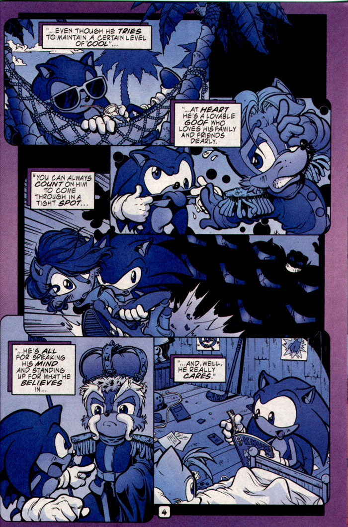 Read online Sonic The Hedgehog comic -  Issue #109 - 20