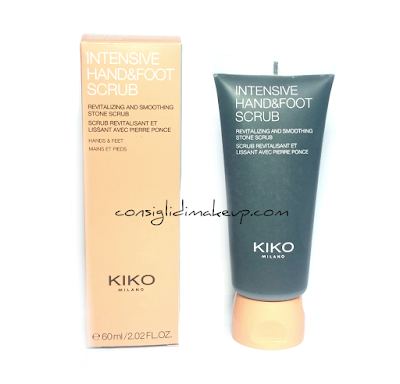 Review: Intensive Hand & Foot Scrub - Kiko Cosmetics