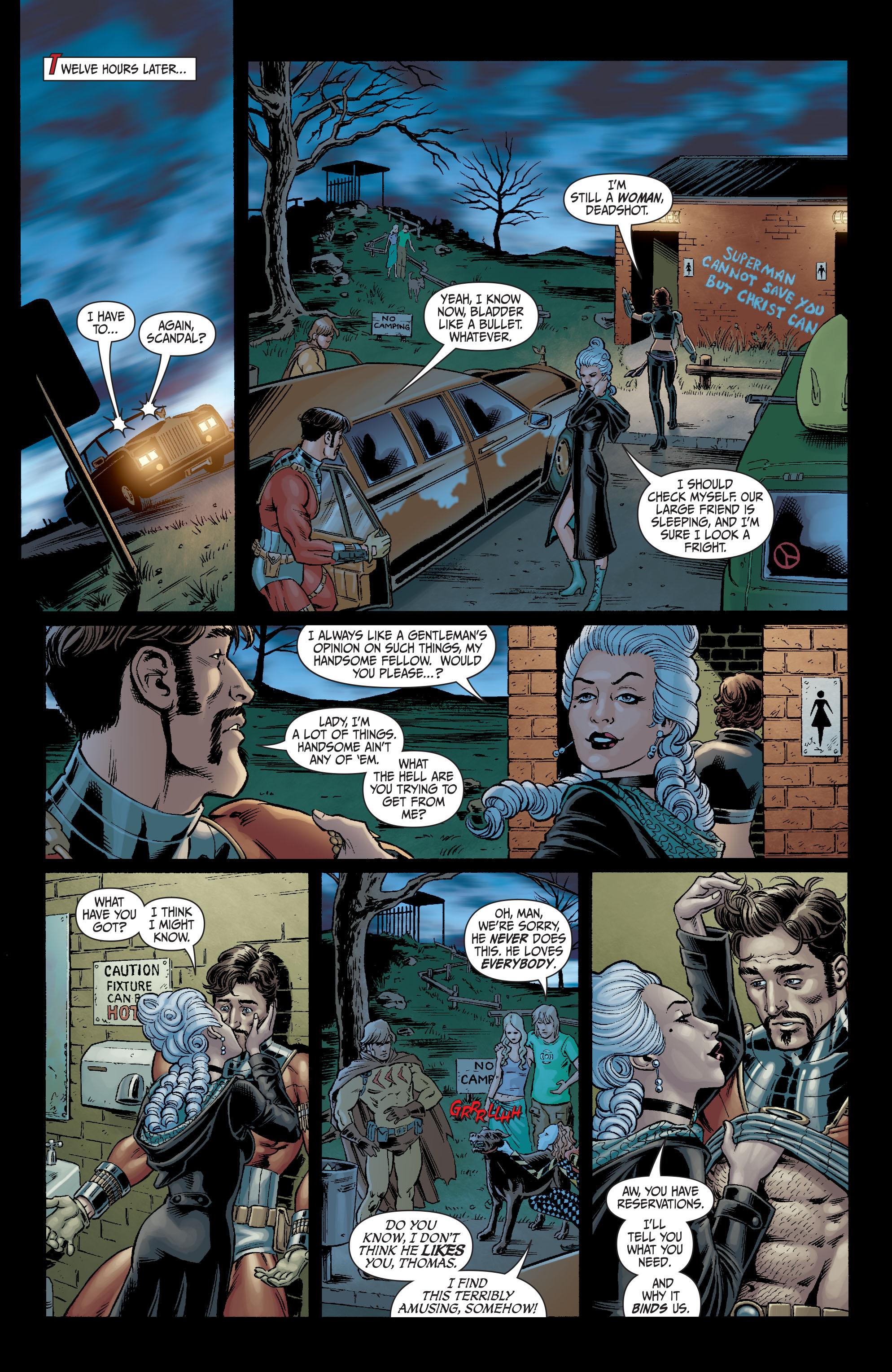 Read online Secret Six (2008) comic -  Issue #6 - 13