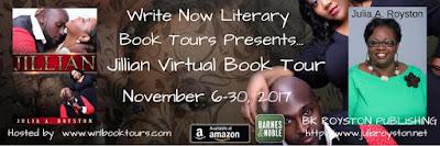 Virtual Book Tour - Meet Julia A. Royston, Author of Jillian