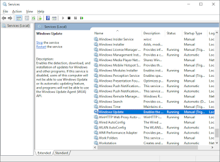 Catatan Ikrom Cara Menonaktifkan Windows Update pada Windows 10 Step-2