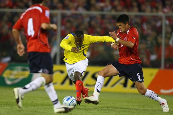 Chile y Ecuador en Clasificatorias a Sudáfrica 2010, 14 de octubre de 2009