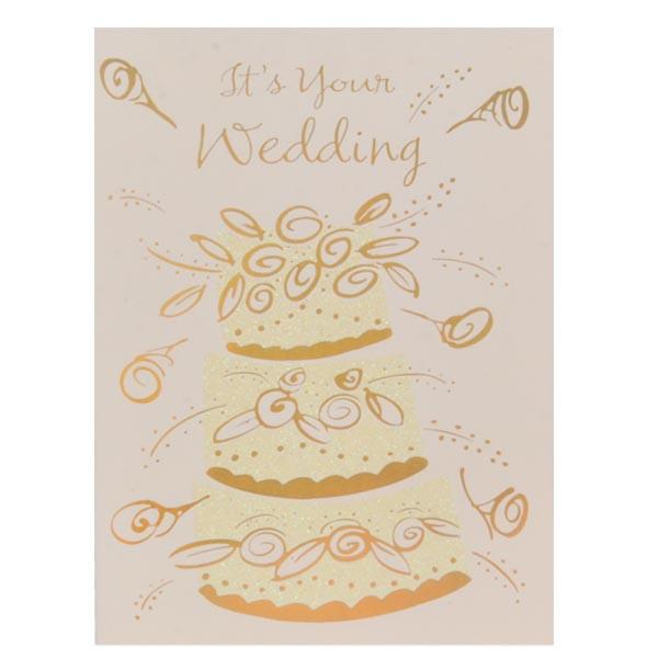 Wedding And Jewellery Wedding Wishes Card