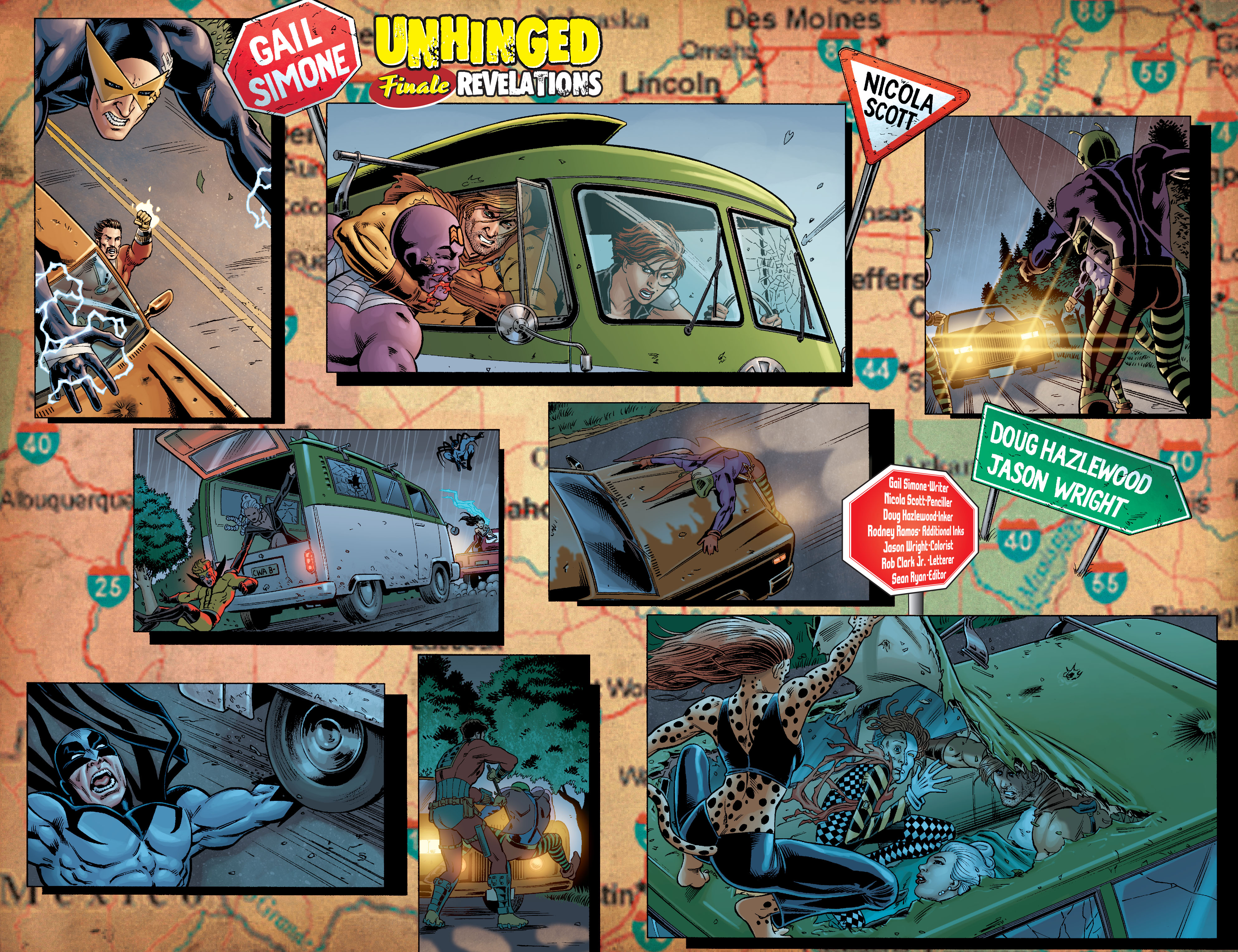 Read online Secret Six (2008) comic -  Issue #7 - 3