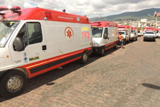 Municípios recebem ambulâncias