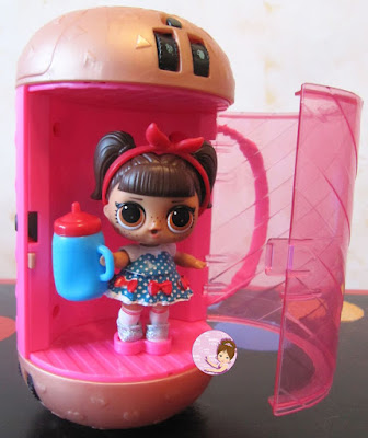 L.O.L. Surprise series 4 capsule with doll