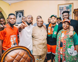 Between Davido And Non-Fan Who Told Him Not To Celebrate His Uncle's Victory Yet