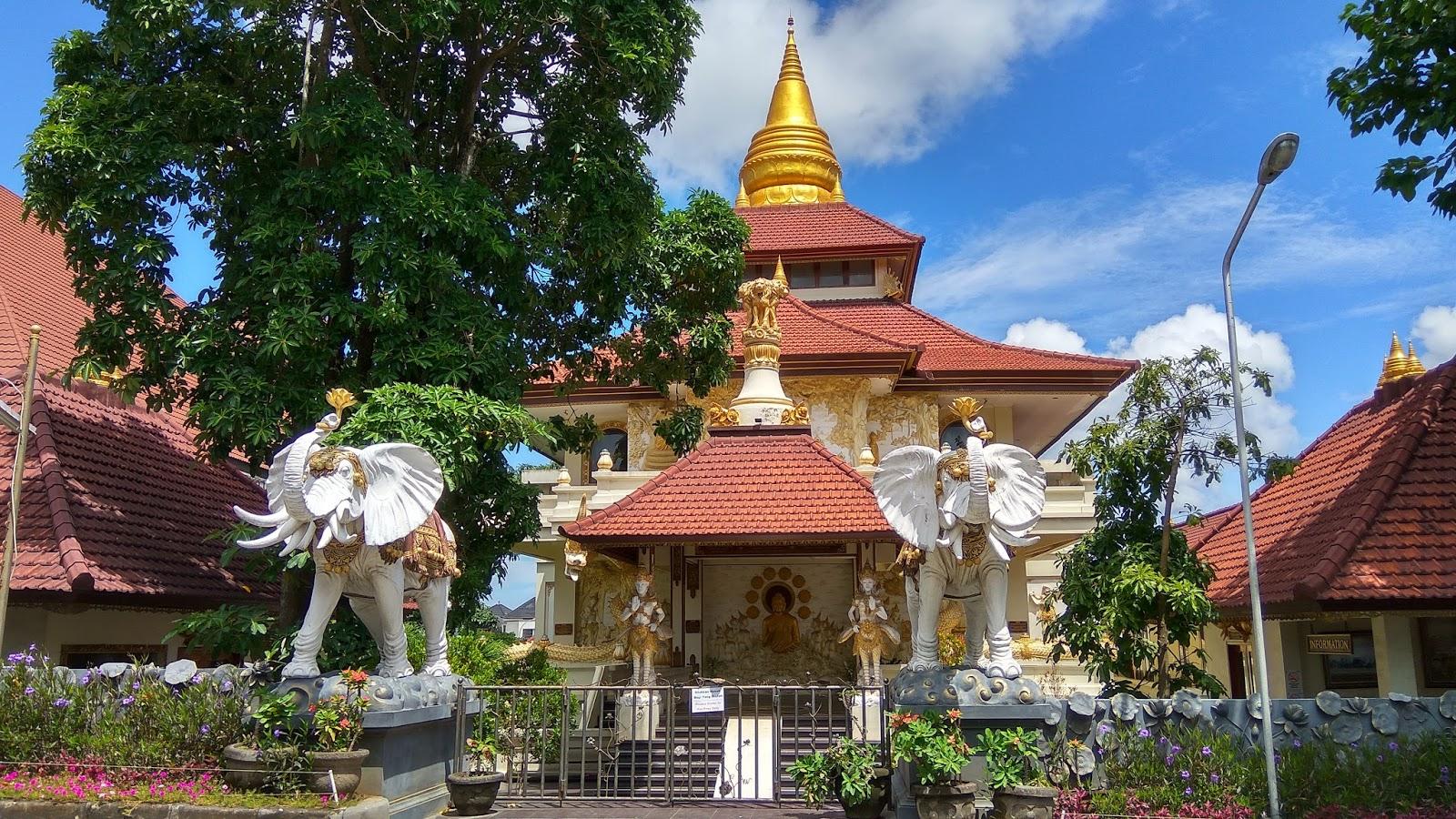 Vihara Buddha Guna Nusa Dua Bali Kumpulan Kabar Bagus