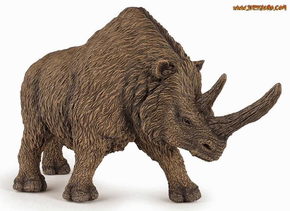 Papo Woolly Rhinoceros