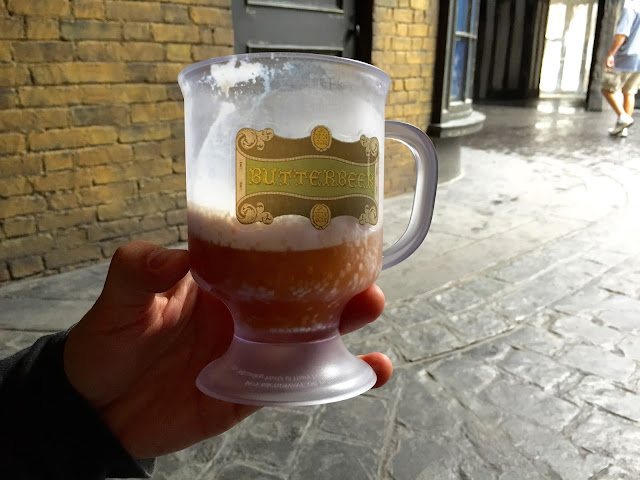 Butterbeer from The Wizarding World of Harry Potter by freshfromthe.com
