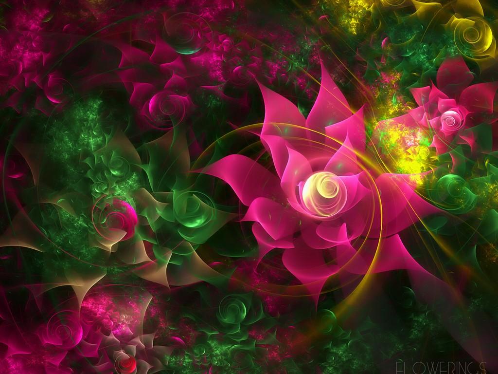 3D Flowers Wallpapers   Free 3D Wallpaper Download