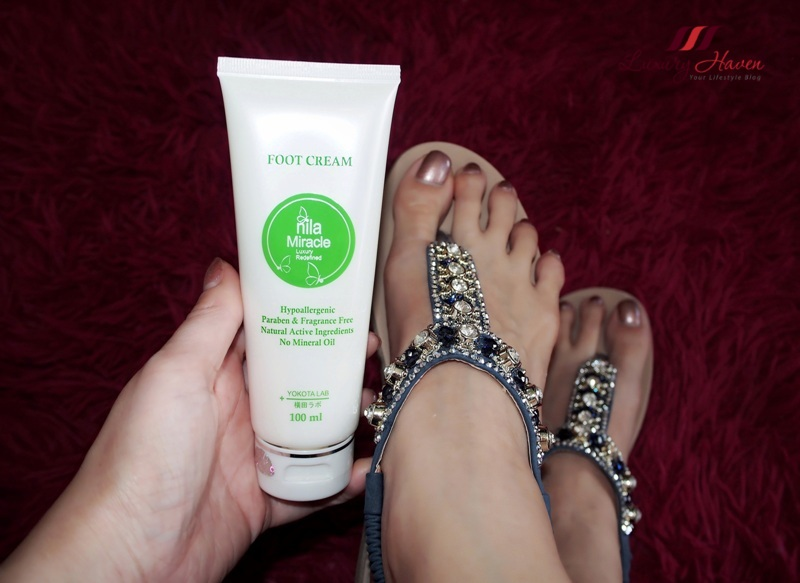 cracked heels nila miracle foot cream review