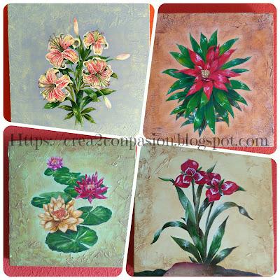 cuadros-pintados-a-mano-flores-Crea2conPasión