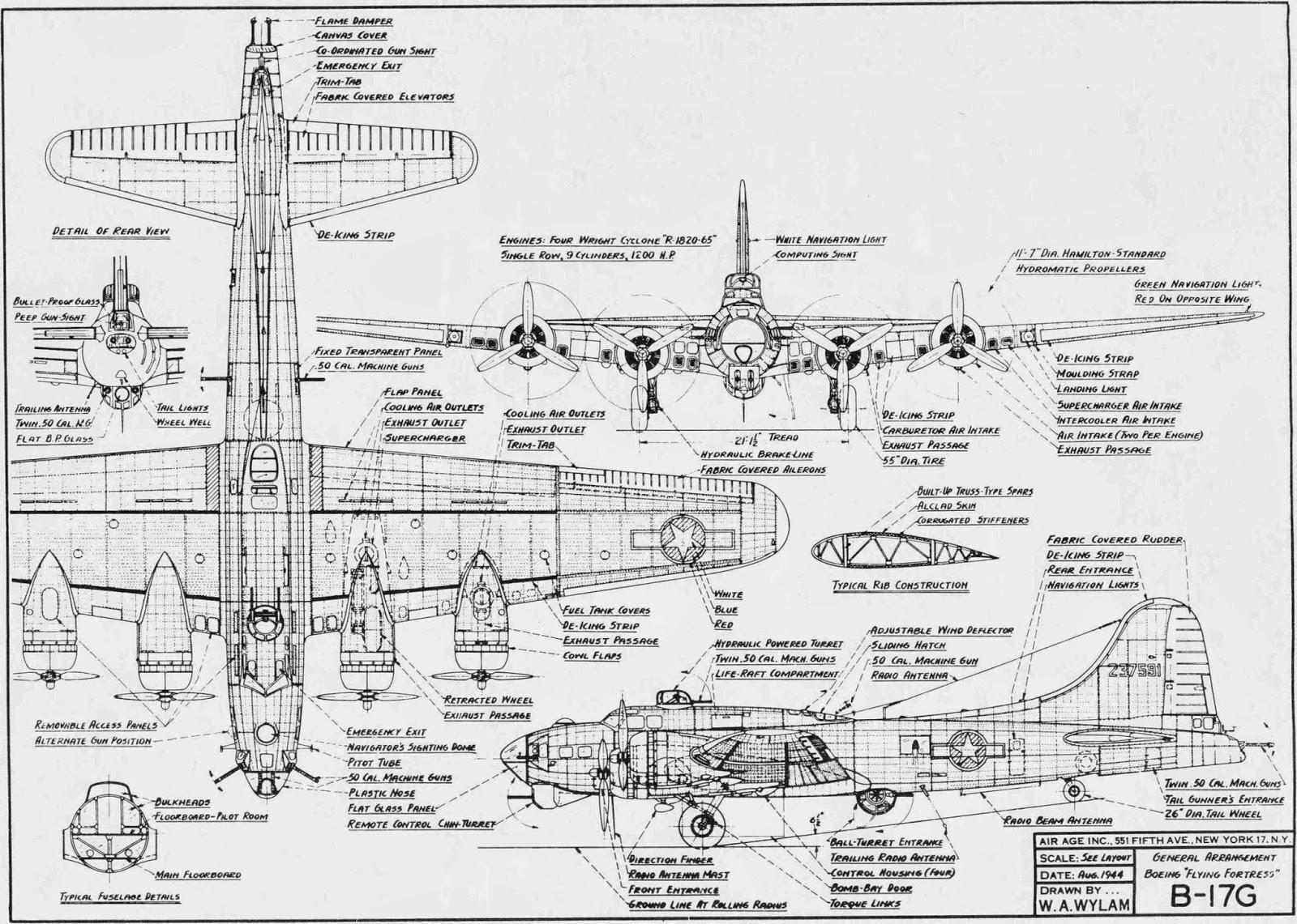 B-17 Schematic