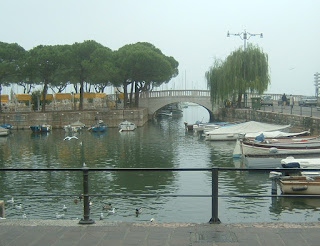 Photo of the harbour at Desenzano del Garda