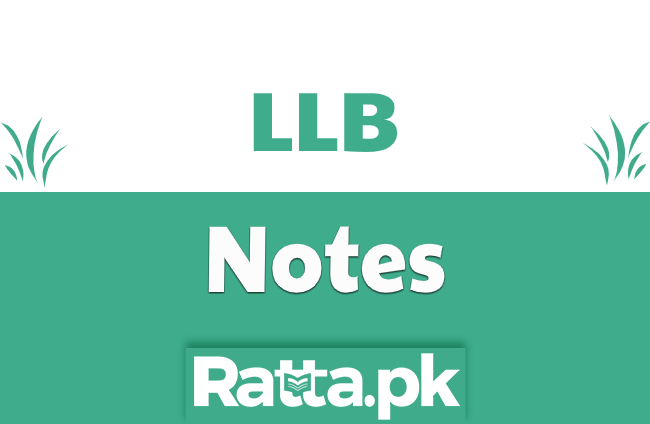 Senate of Pakistan - Constitutional Law Notes LLB