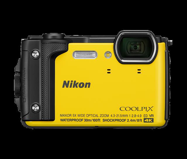 Nikon Coolpix W300, спереди
