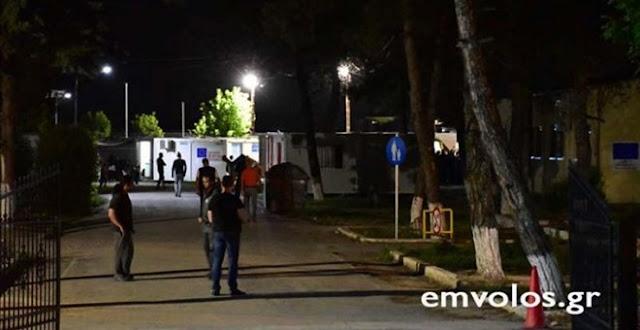 Επεισόδια και τραυματισμοί στο κέντρο προσφύγων στην Αλεξάνδρεια Τρεις Σύροι τραυματίστηκαν,