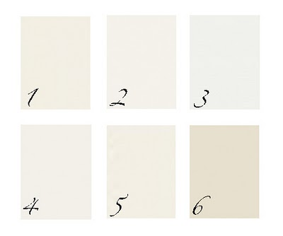 Here Are Some Other Similar Shades The First One Should Be Benjamin Moore Ivory White