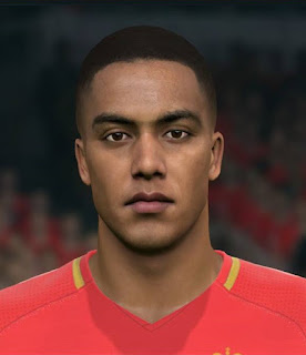 PES 2017 Faces Youri Tielemans by Sameh Momen