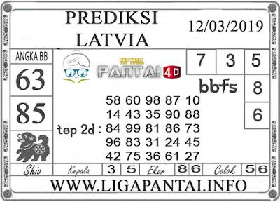 """Prediksi Togel """"LATVIA"""" PANTAI4D 12 MARET 2019"""