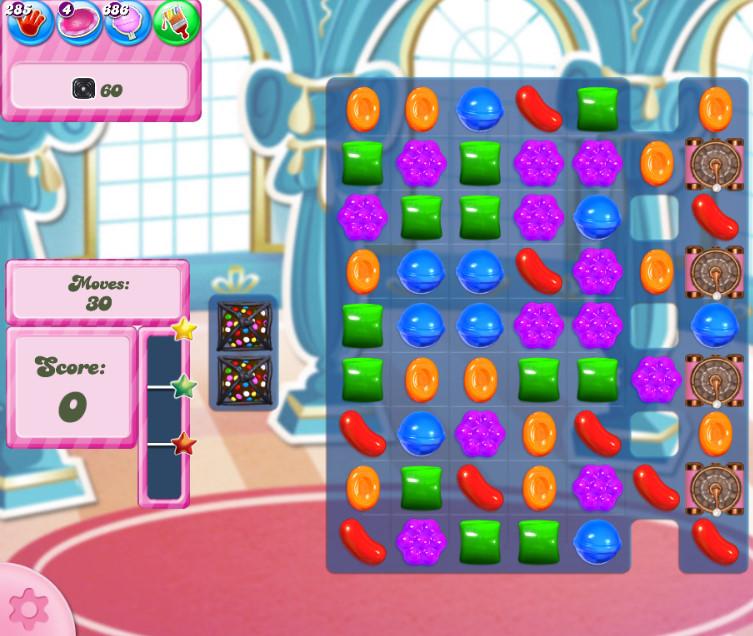 Candy Crush Saga level 2743
