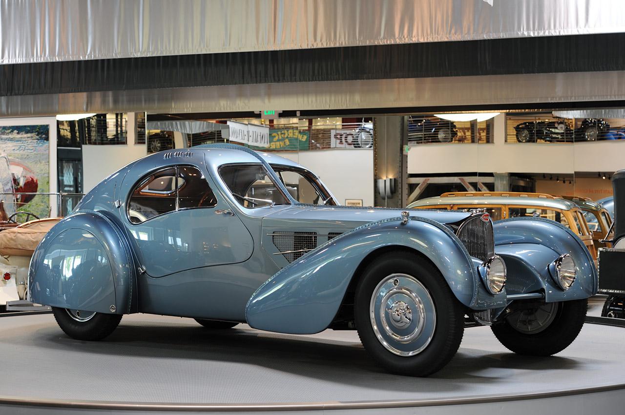 This Info Bugatti 1936 Type 57SC Atlantic Sells For a Record $30 ...