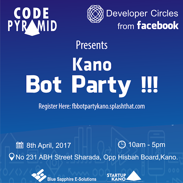CODE PYRAMID TO HOST FACEBOOK BOT PARTY IN KANO THIS WEEKEND