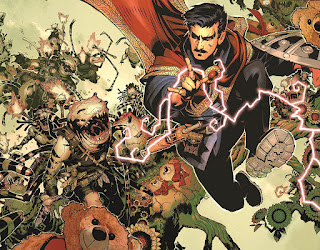 Ectoplasmic plane battles in Doctor Strange