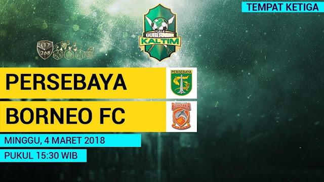 Prediksi Persebaya Surabaya Vs Pusamania Borneo, Minggu 04 Maret 2018 Pukul 15.30 WIB @ MNCTV