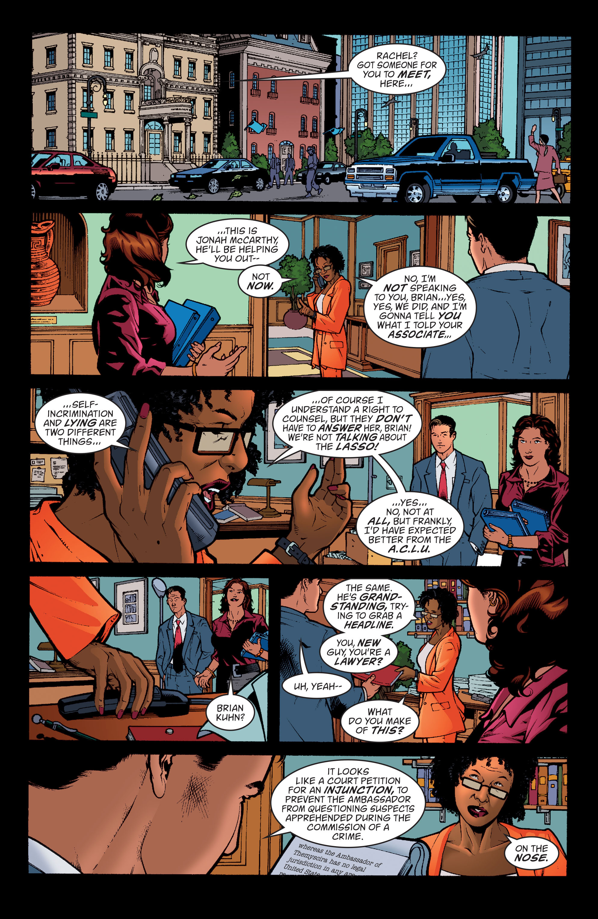 Read online Wonder Woman (1987) comic -  Issue #195 - 7