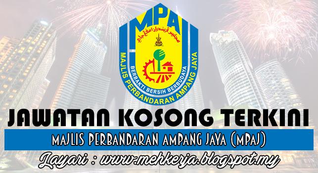 Jawatan Kosong Terkini 2016 di Majlis Perbandaran Ampang Jaya (MPAJ)