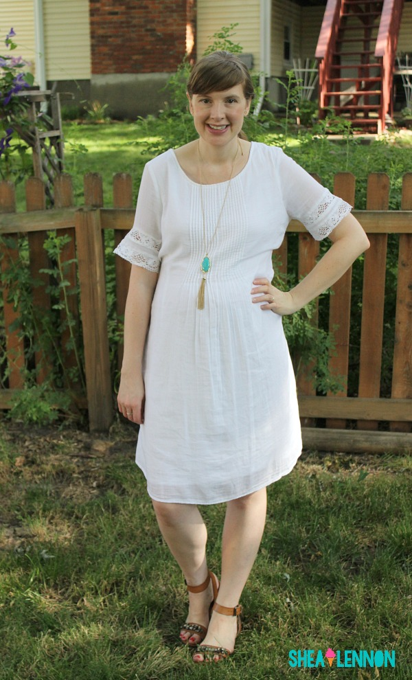 What are your summer staples? For me, a white dress is high on the list, because there are so many ways to style it. Click through for details.