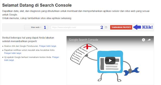 Cara Membuat Akun Search Console