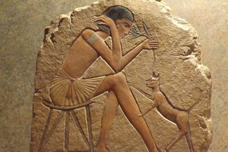 Eski Mısır'da kediler kutsal canlılar olarak kabul edilirdi.