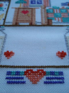 Cross stitch - Cocoa Sampler