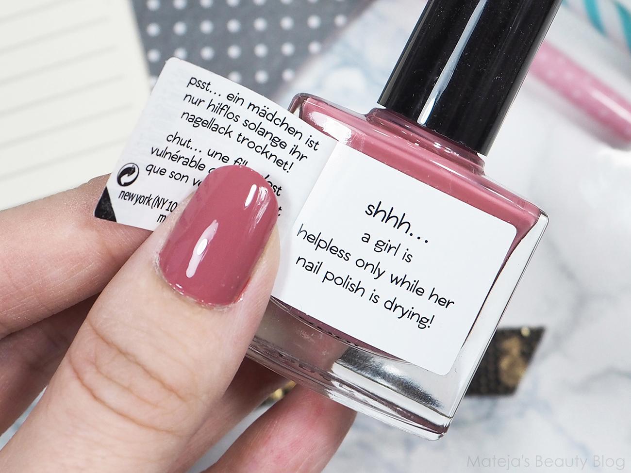 Essence secret stories nail polish 01 can you keep my secret ...