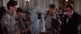 Ghostbusters 1984 catching Slimer in hotel
