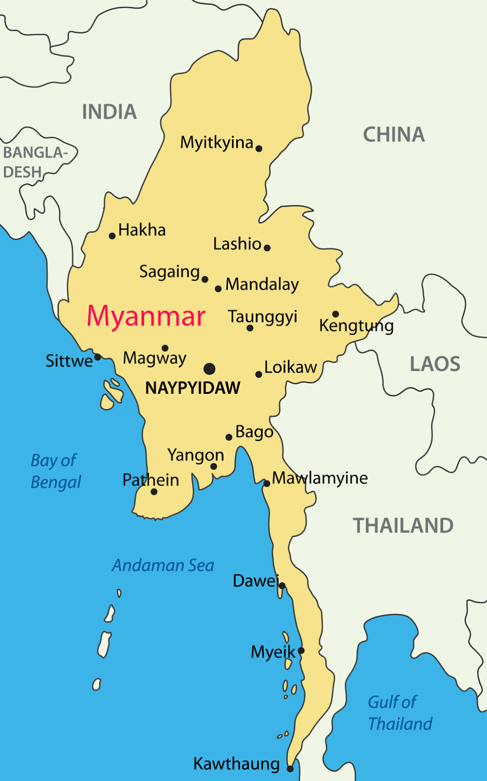 Tripper Myanmar Where Is Myanmar Or Golden Land - Where is myanmar