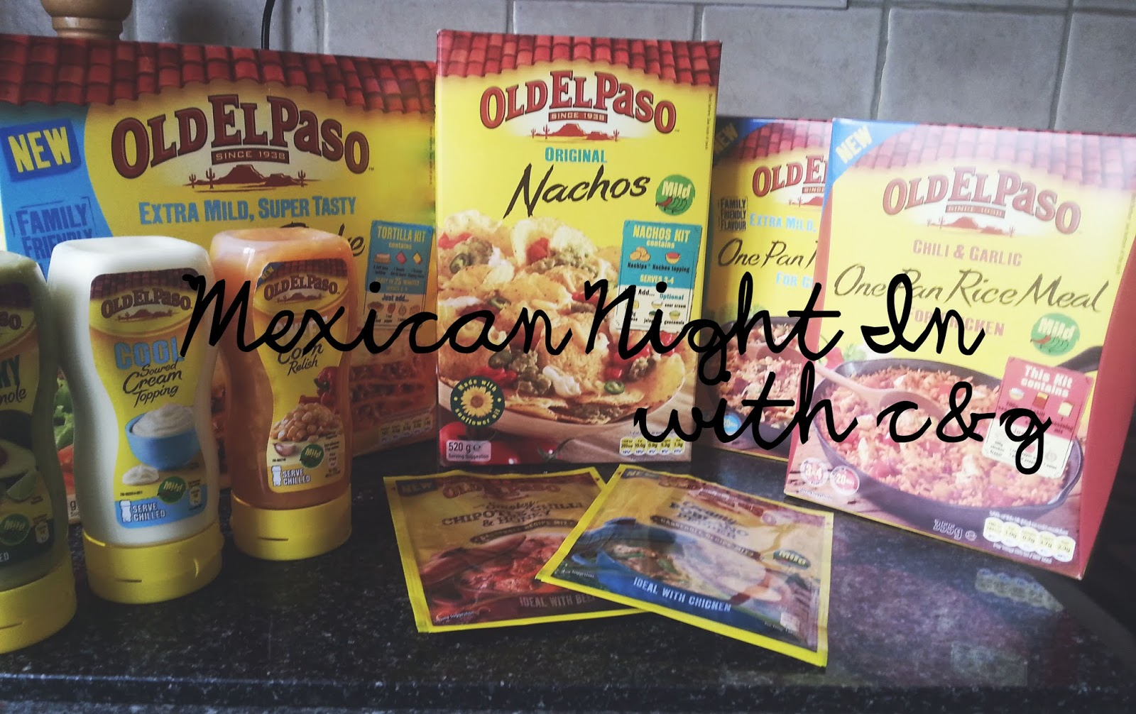 Vegetarian Mexican Dishes with Old El Paso